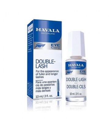 vista frontal de mavala double lash y frasco 10 mm
